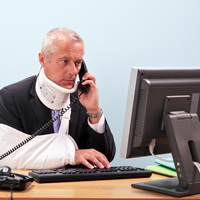 injured-employee-on-the-phone