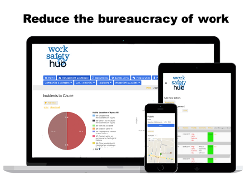 Work Safety Hub Web App